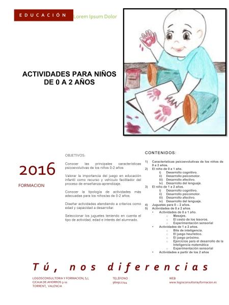 INF ACTIVIDADES PARA NIÑOS DE 0 A 2 AÑOS