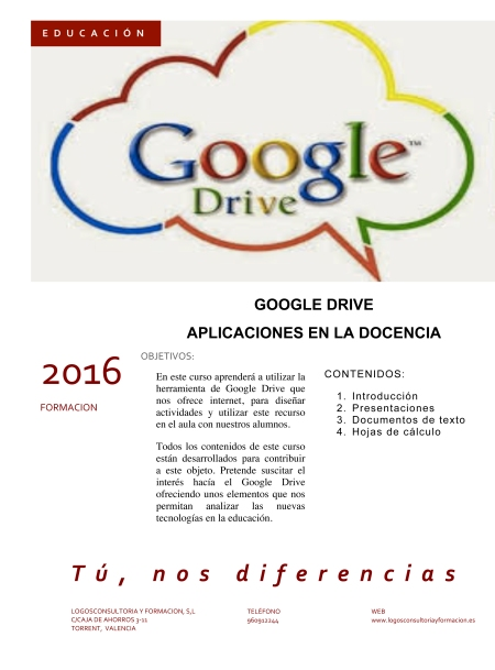 INF GOOGLE DRIVE