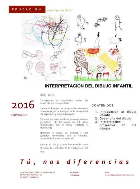 INF INTERPRETACION  DEL DIBUJO INFANTIL